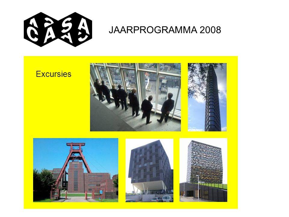 JAARPROGRAMMA 2008 Excursies
