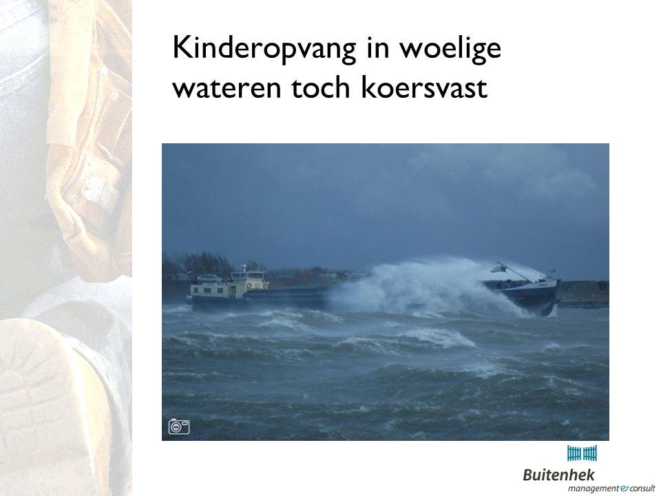 Kinderopvang in woelige wateren toch koersvast