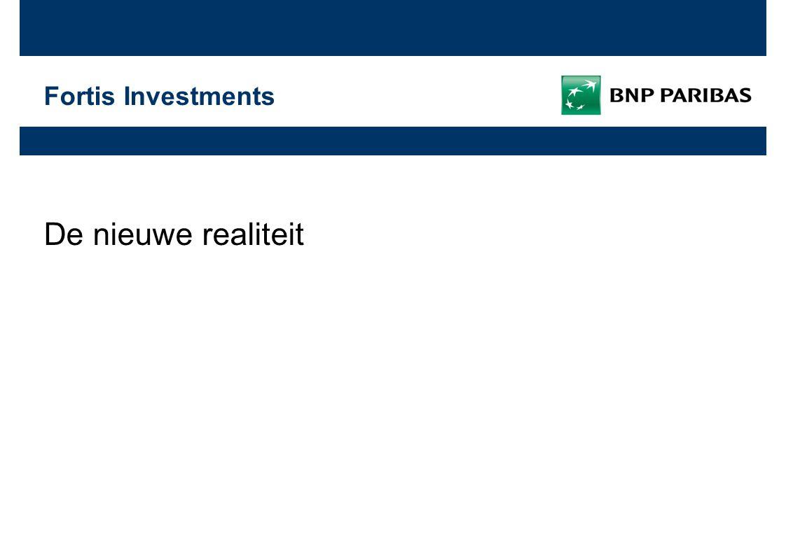 31 oktober 2009 | 13 Fortis Investments 8.