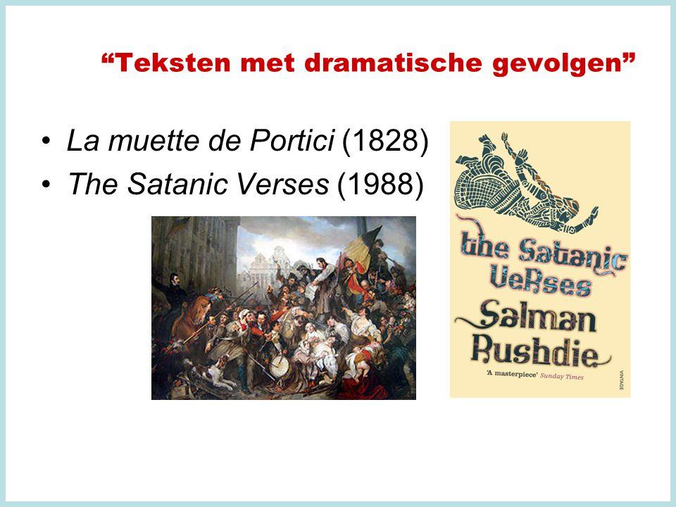 La muette de Portici (1828) The Satanic Verses (1988)