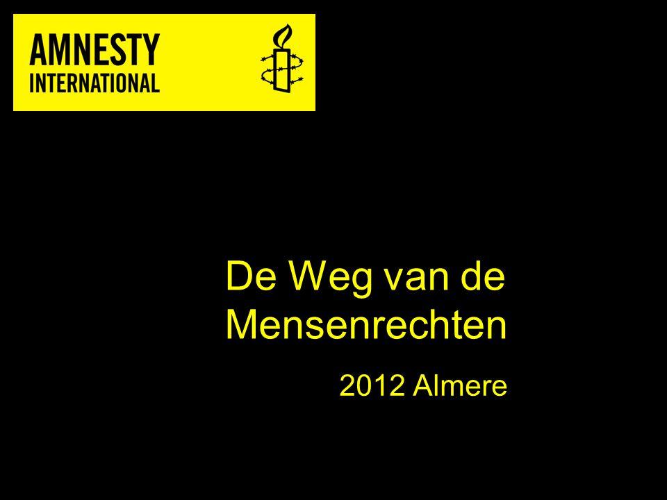 De Weg van de Mensenrechten 2012 Almere