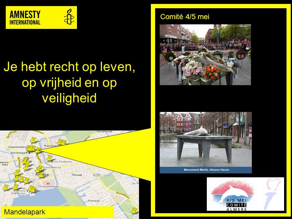 Slavernij is verboden Bevrijdingsfestival Almere Mandelapark