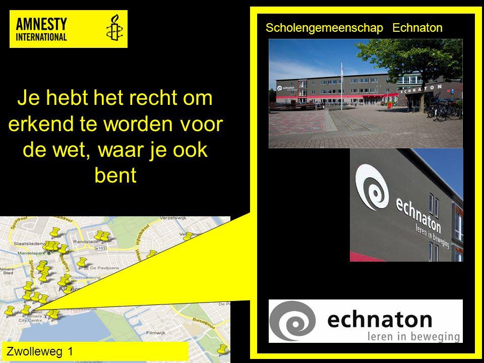 De wet is voor iedereen gelijk en moet iedereen gelijke bescherming bieden Goede Stede Hengelosestraat/Doesburgkade