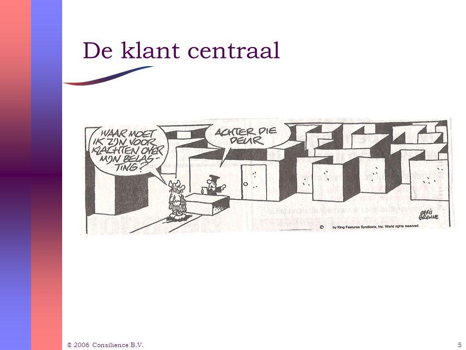 © 2006 Consilience B.V.16 Inhoudsopgave  Waar gaat het over.