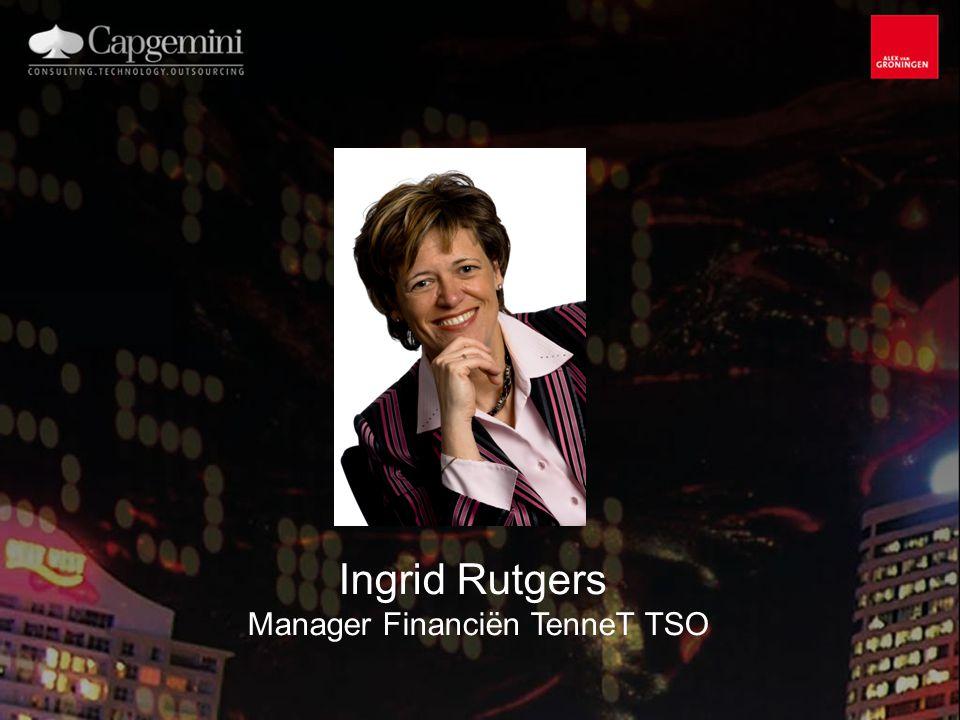 Ingrid Rutgers Manager Financiën TenneT TSO
