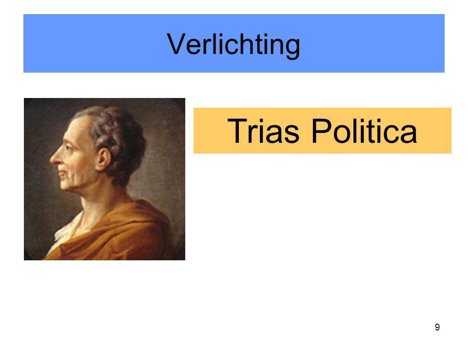 9 Trias Politica Verlichting