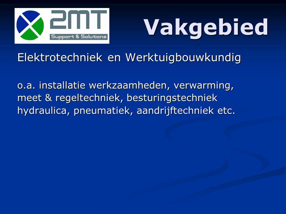 Introductie 2MT, een technische ondersteunende organisatie Dienstverlening aan bedrijven.