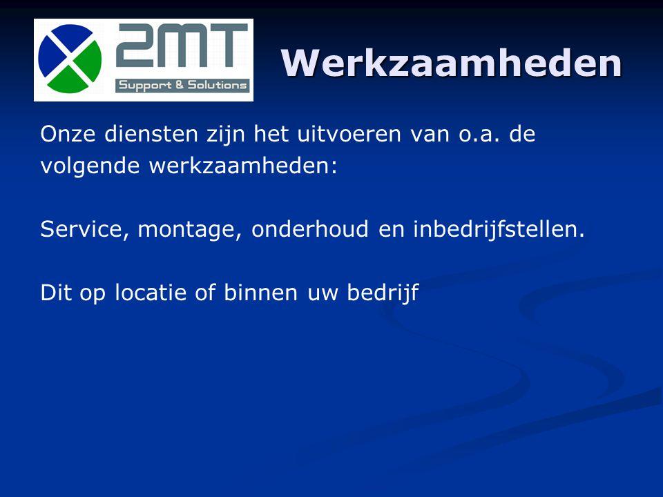 Vakgebied Elektrotechniek en Werktuigbouwkundig o.a.