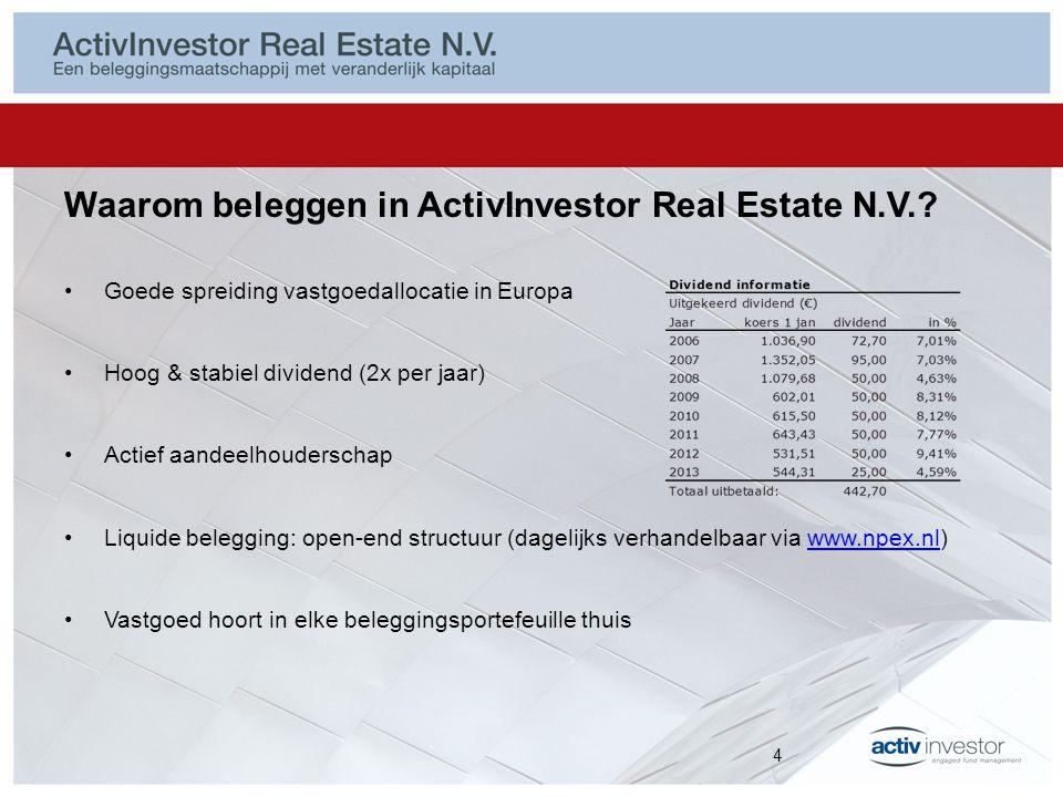 ActivInvestor Real Estate N.V.