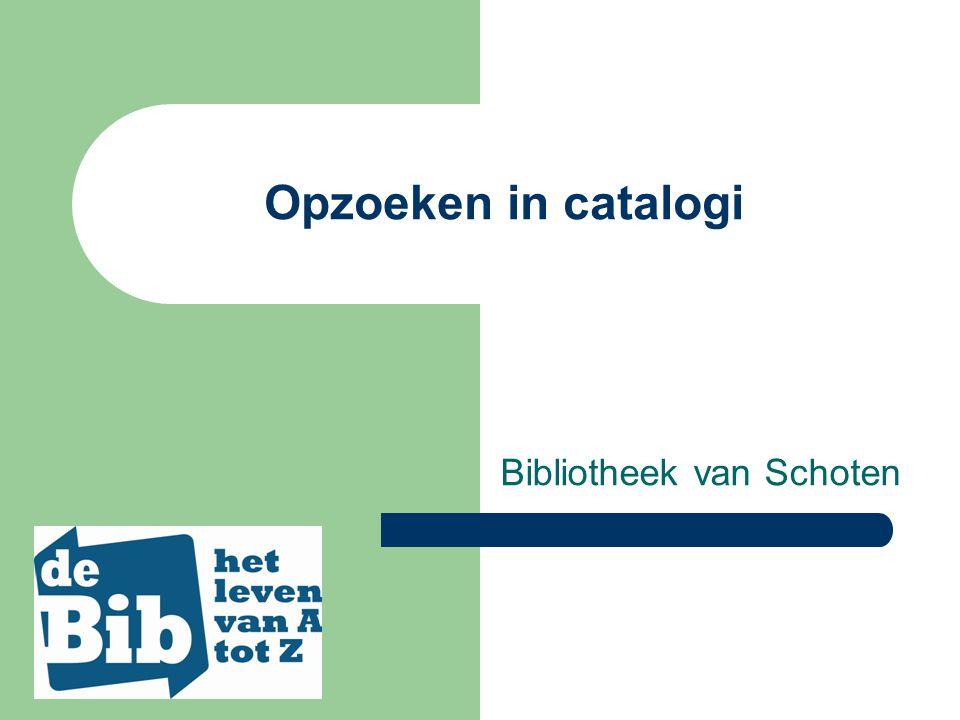 Catalogus van thuis uit te raadplegen www.schoten.be diensten bibliotheek e-bibliotheek startscherm