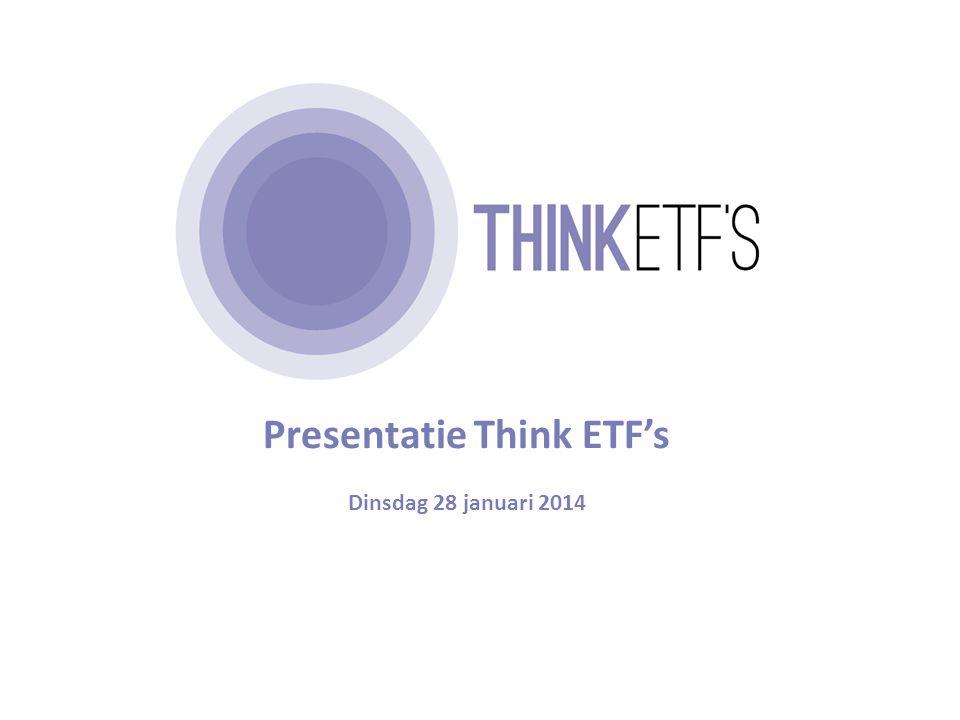 De agenda voor vanmiddag 1 Wat is indexbeleggen.Wat zijn ETF's.