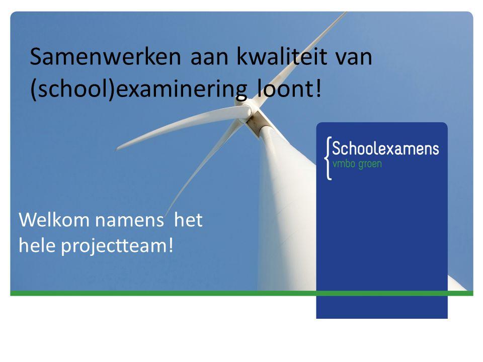 5 instrumenten kwaliteit VMBO-groen http://www.sterkgroenonderwijs.nl/