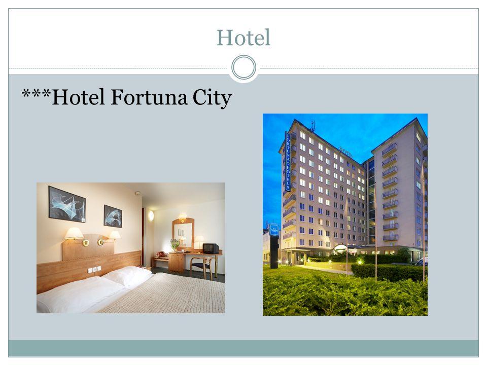 Hotel ***Hotel Fortuna City