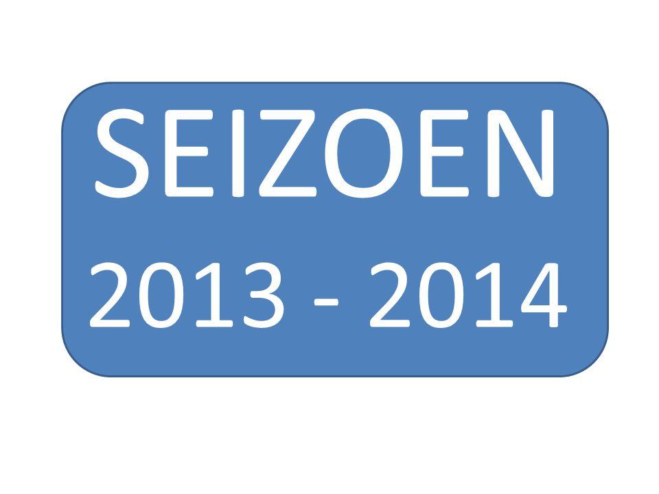 SEIZOEN 2013 - 2014