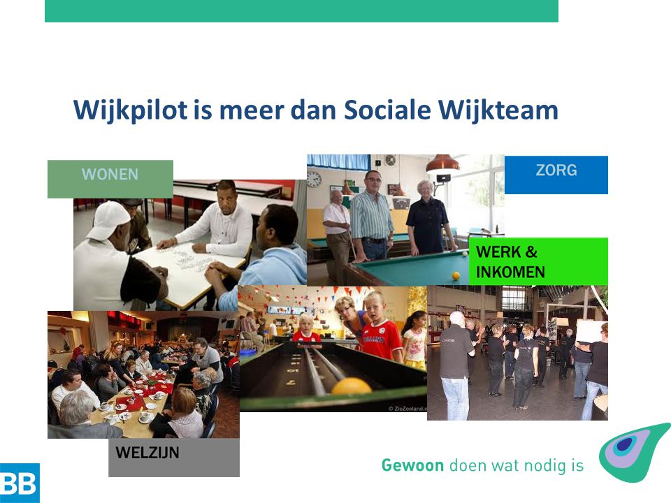 Wijkpilot is meer dan Sociale Wijkteam