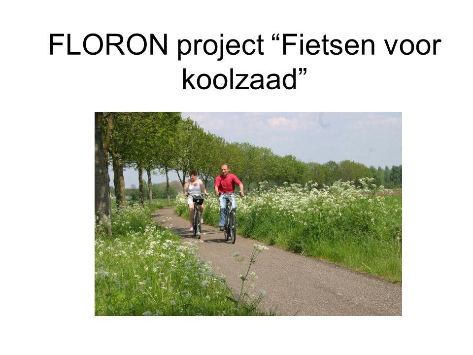 """FLORON project """"Fietsen voor koolzaad"""""""