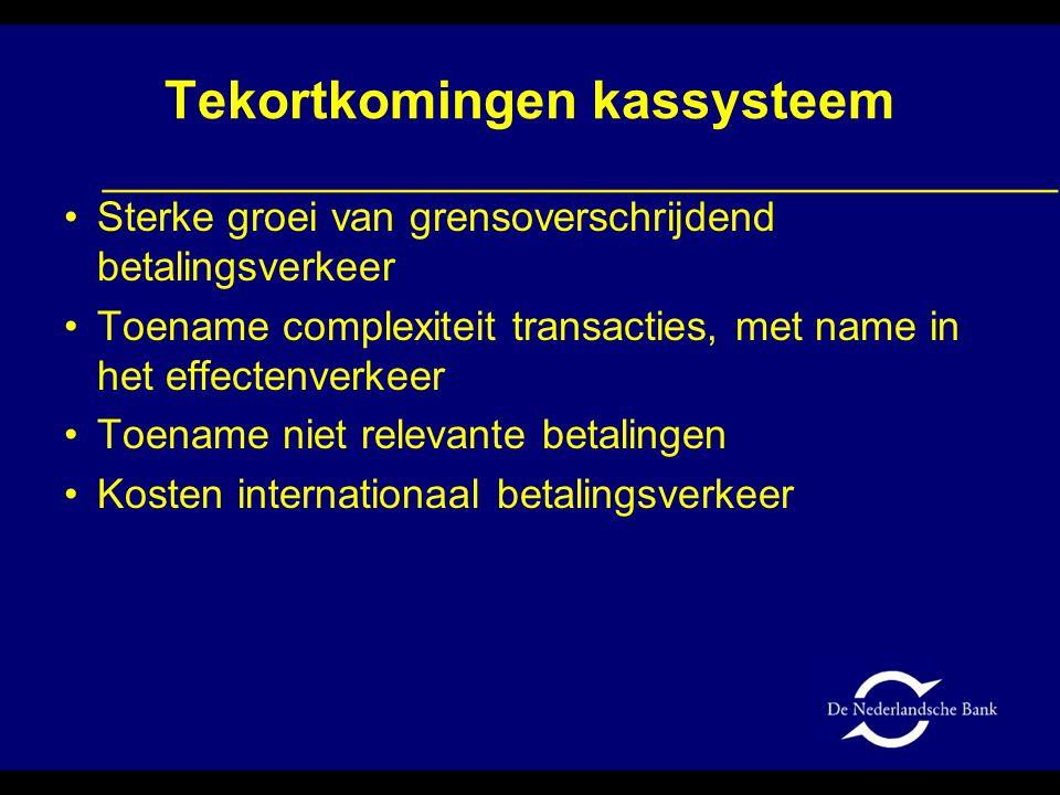 Doelstellingen nieuwe systeem Verhoging kwaliteit Betere aansluiting op ESA/NR Verlaging maatschappelijke rapportagelast