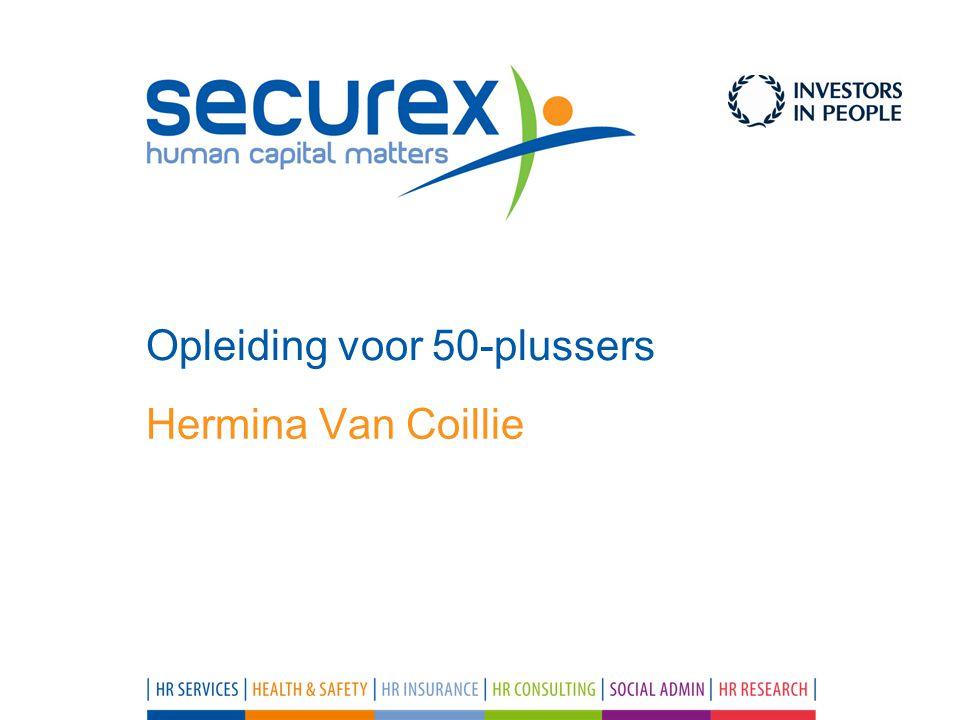 Hermina Van Coillie Opleiding voor 50-plussers