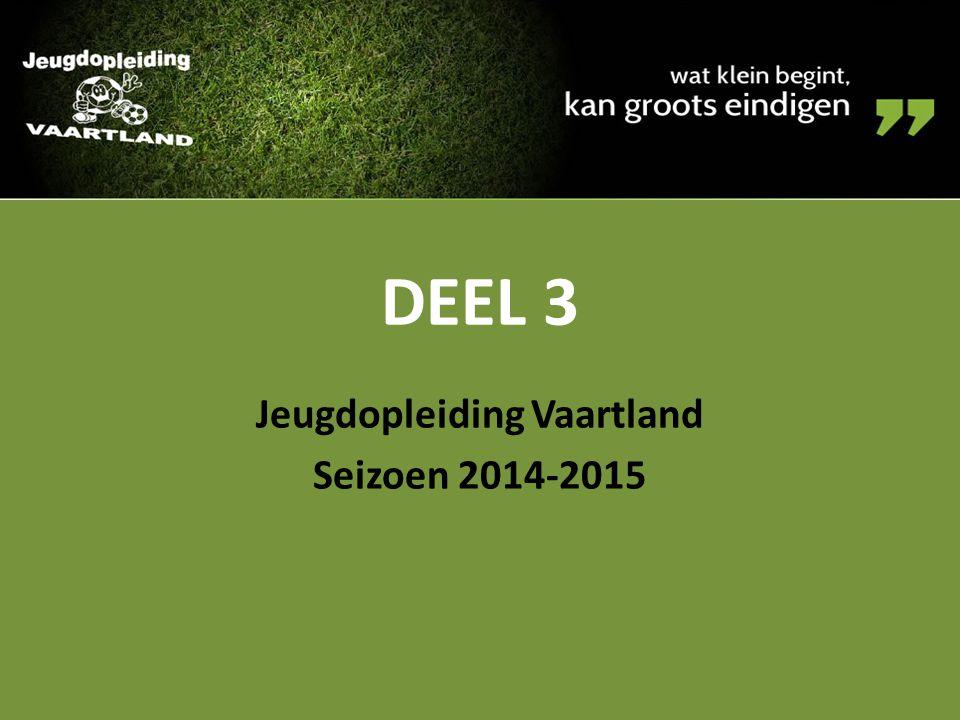 DEEL 3 Jeugdopleiding Vaartland Seizoen 2014-2015