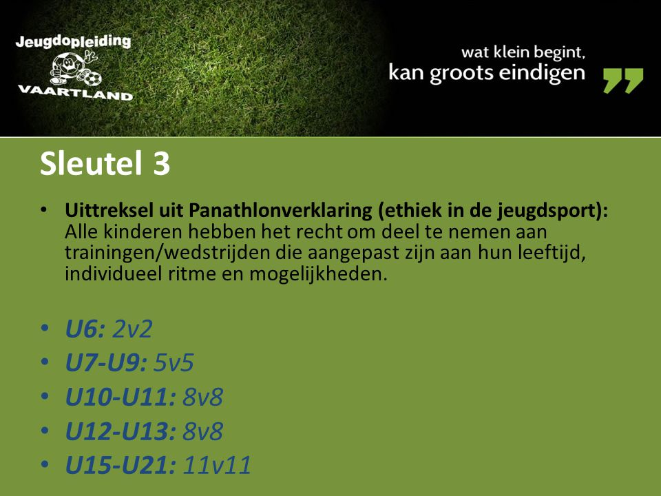 Vragen? administratie@jeugdopleidingvaartland.be www.jeugdopleidingvaartland.be