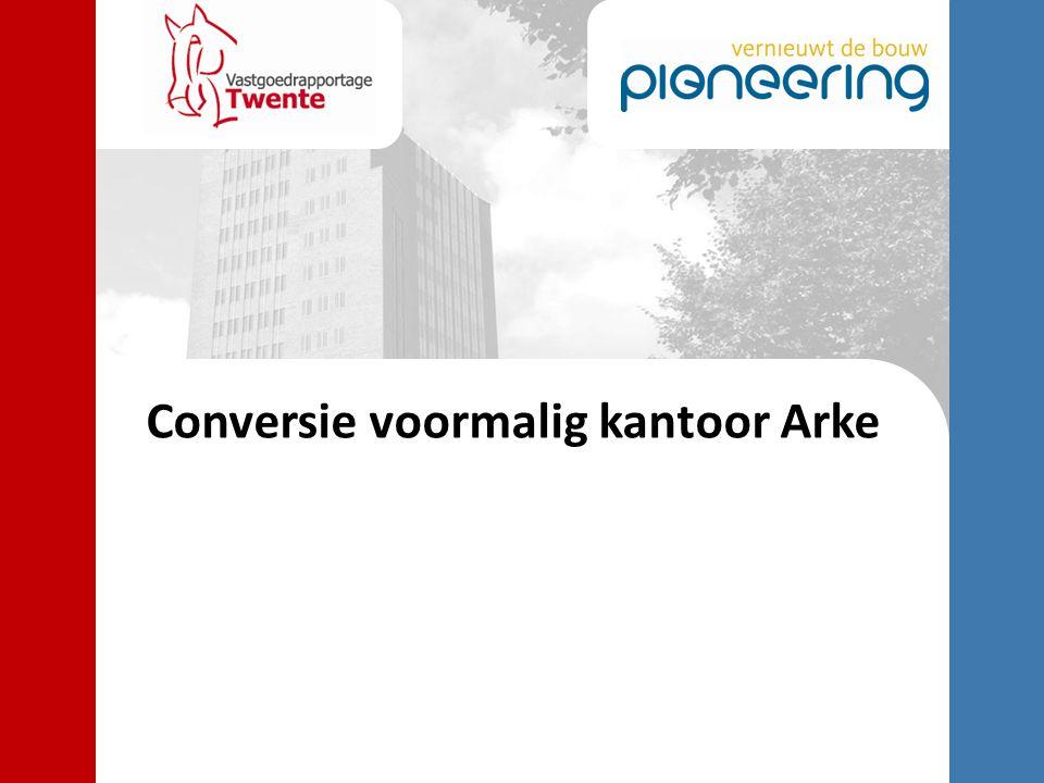 Conversie voormalig kantoor Arke