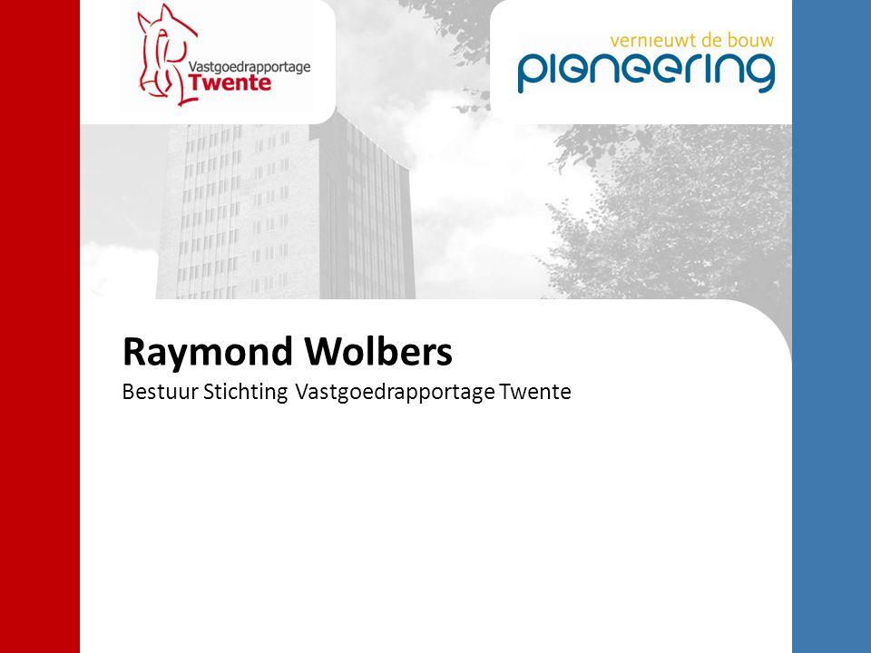 Raymond Wolbers Bestuur Stichting Vastgoedrapportage Twente