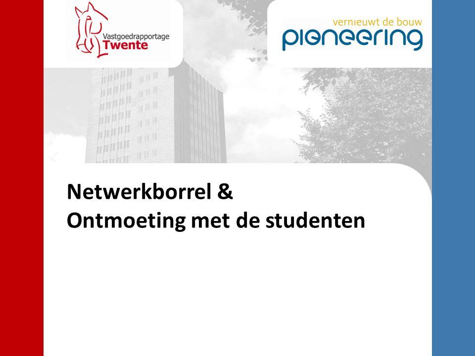 Netwerkborrel & Ontmoeting met de studenten