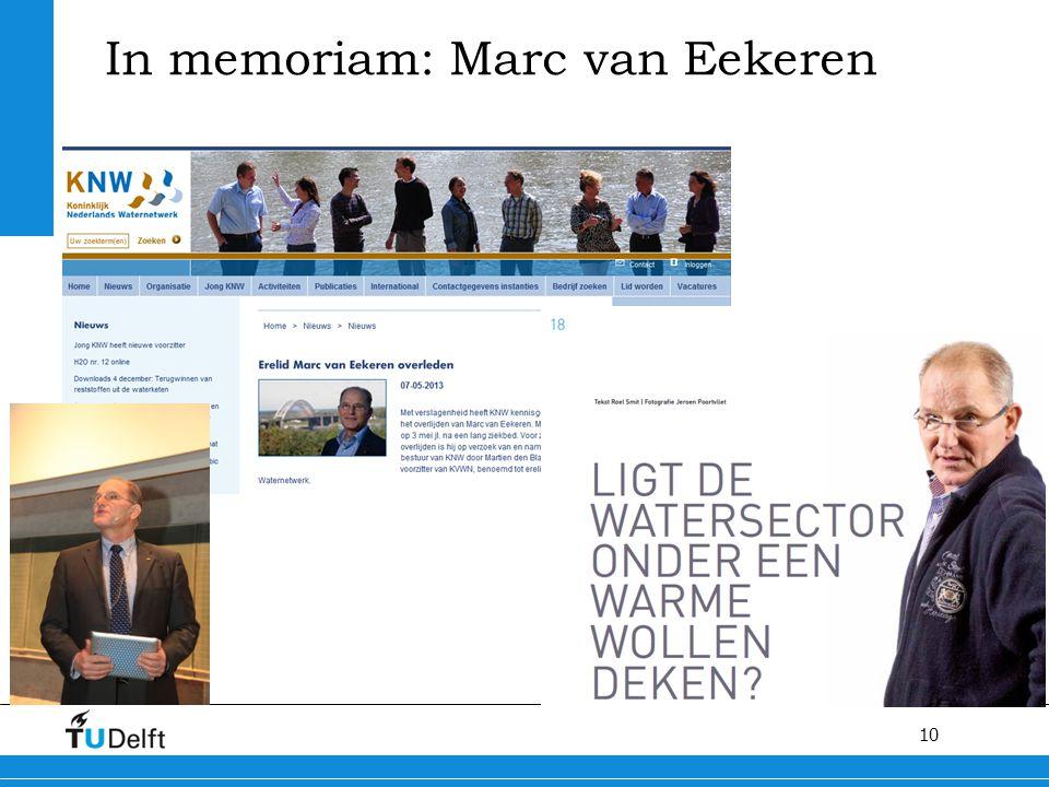 10 In memoriam: Marc van Eekeren
