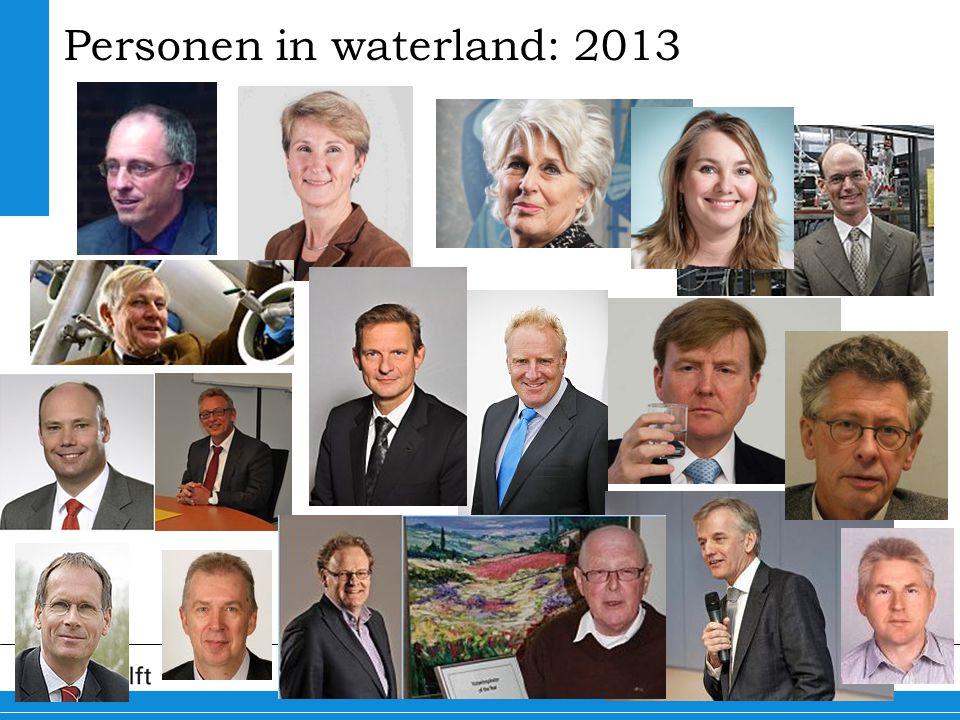 8 Personen in waterland: 2013