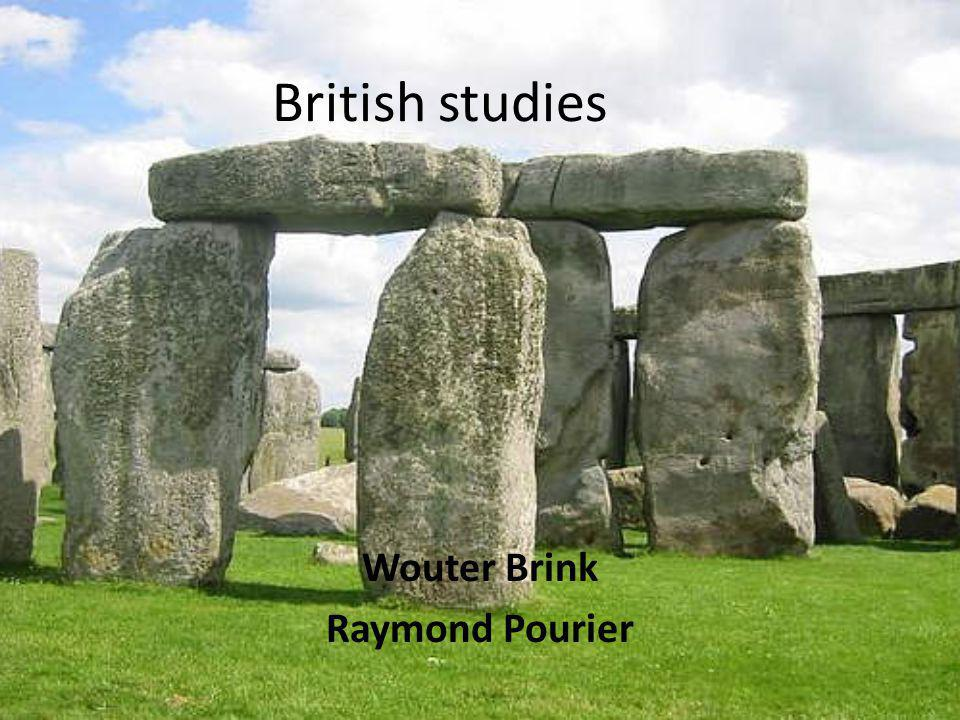 British studies Wouter Brink Raymond Pourier