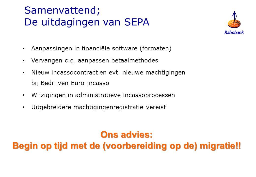 ICT: Software- aanpassingen evt.
