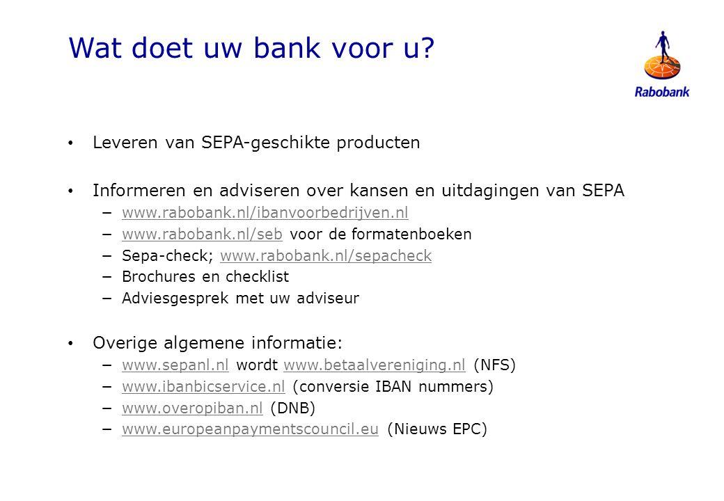 SEPA Check