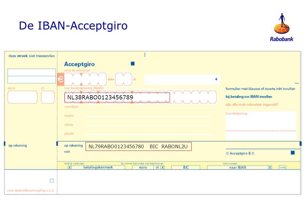 Aanpassing Financiële software Nieuwe bestandsformaten −Betaal- en incasso-opdrachten −Rekeninginformatie −Bruto Boeken en rekeninginformatie i.p.v.