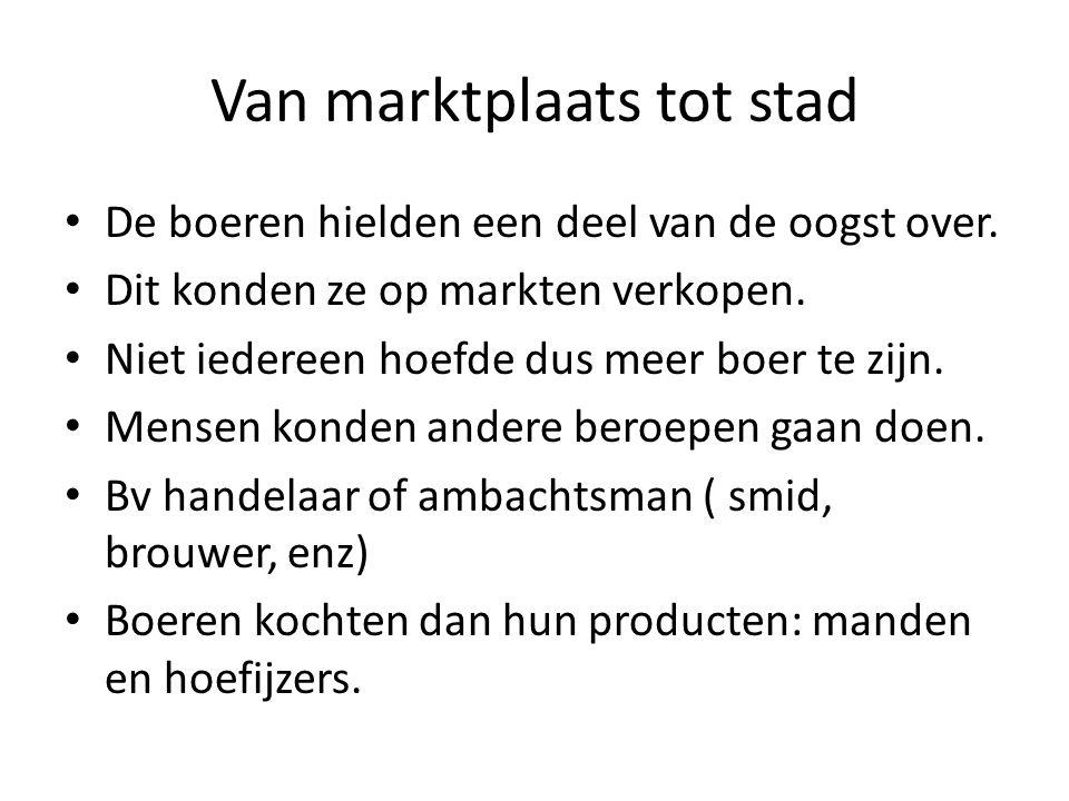 Een verbond van steden Een havenstad in Nederland: Kampen.