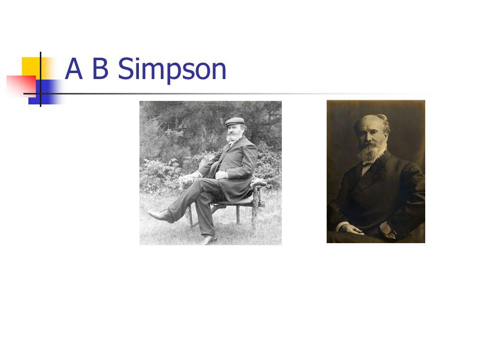 A B Simpson