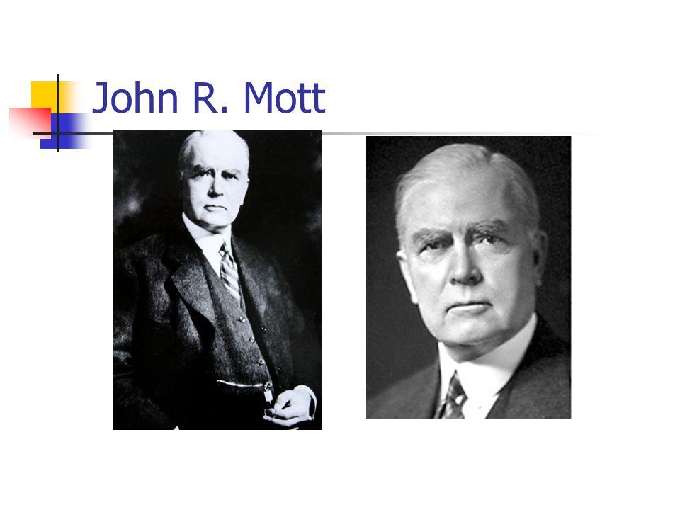 John R. Mott
