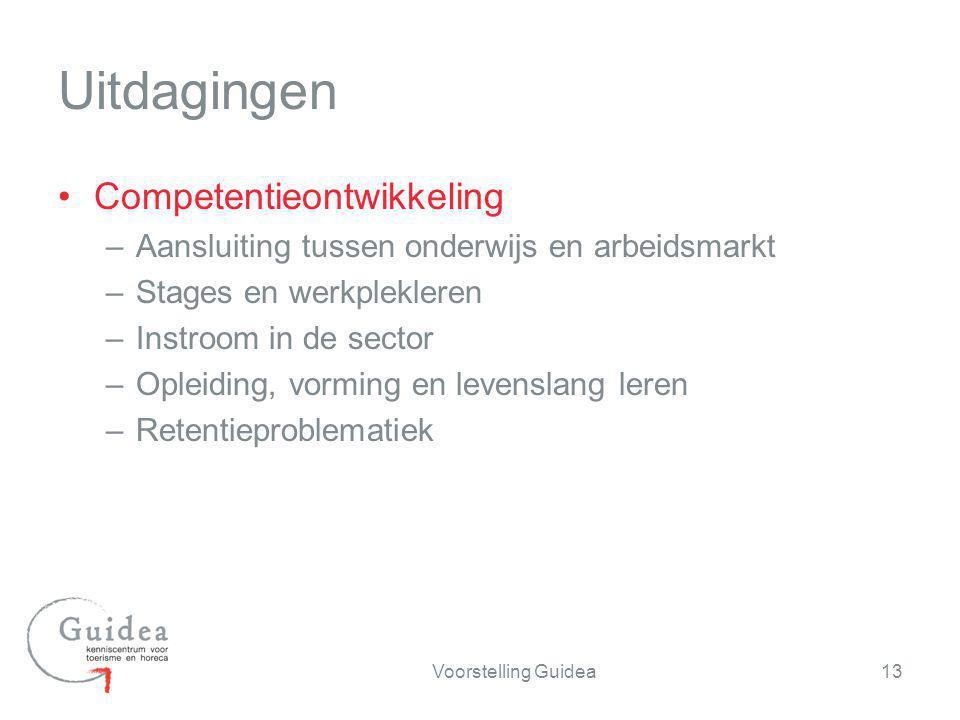 Competentieontwikkeling –Aansluiting tussen onderwijs en arbeidsmarkt –Stages en werkplekleren –Instroom in de sector –Opleiding, vorming en levenslan