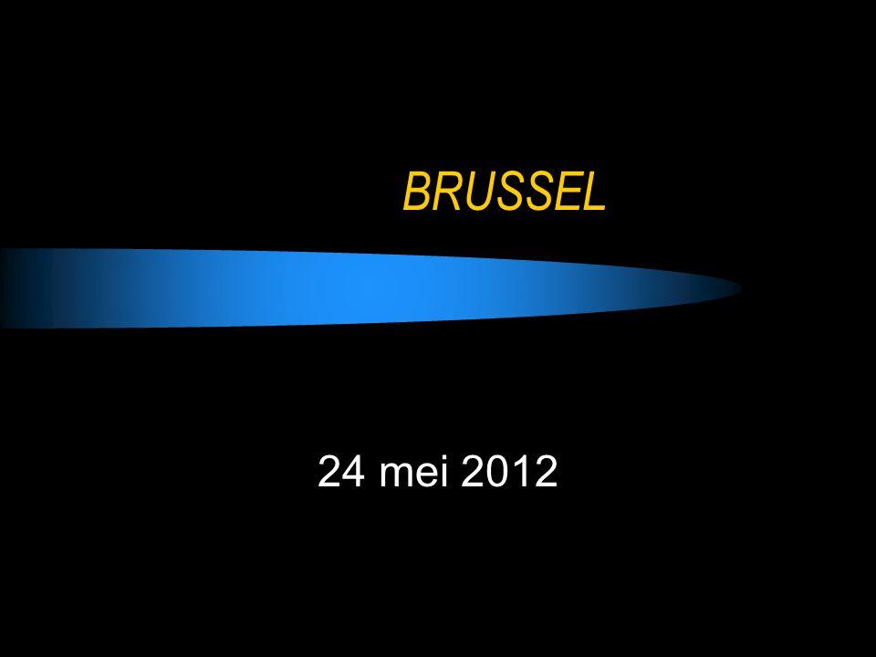 BRUSSEL 24 mei 2012