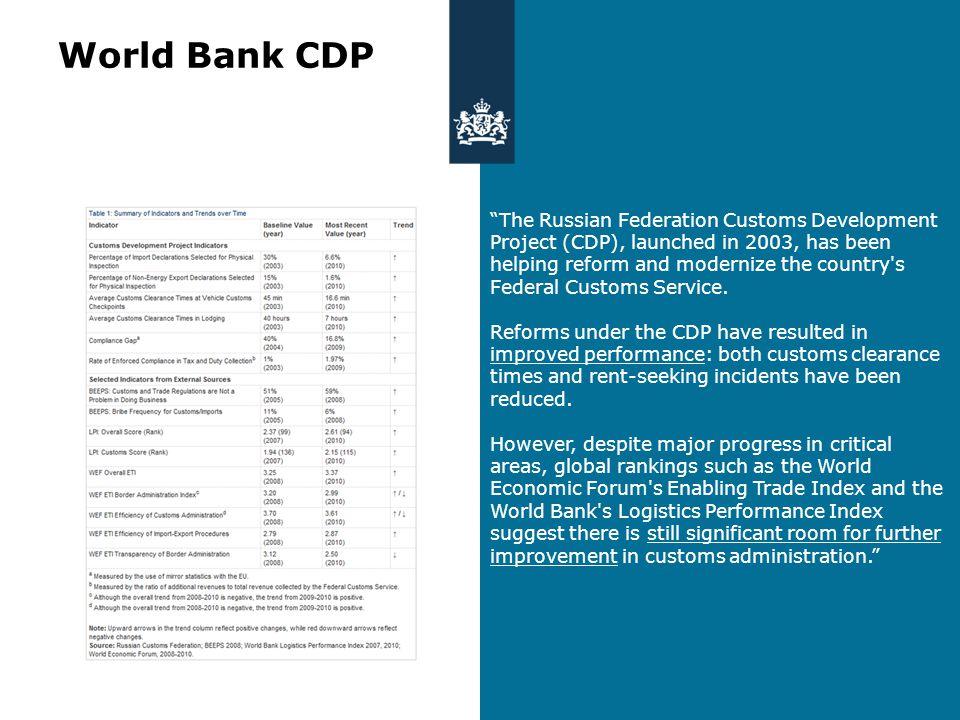 Ontwikkelingen op douanegebied Economische integratie Constante modernisering Belang van informatie Vereenvoudiging van procedures Transparantie Bereidheid tot samenwerking