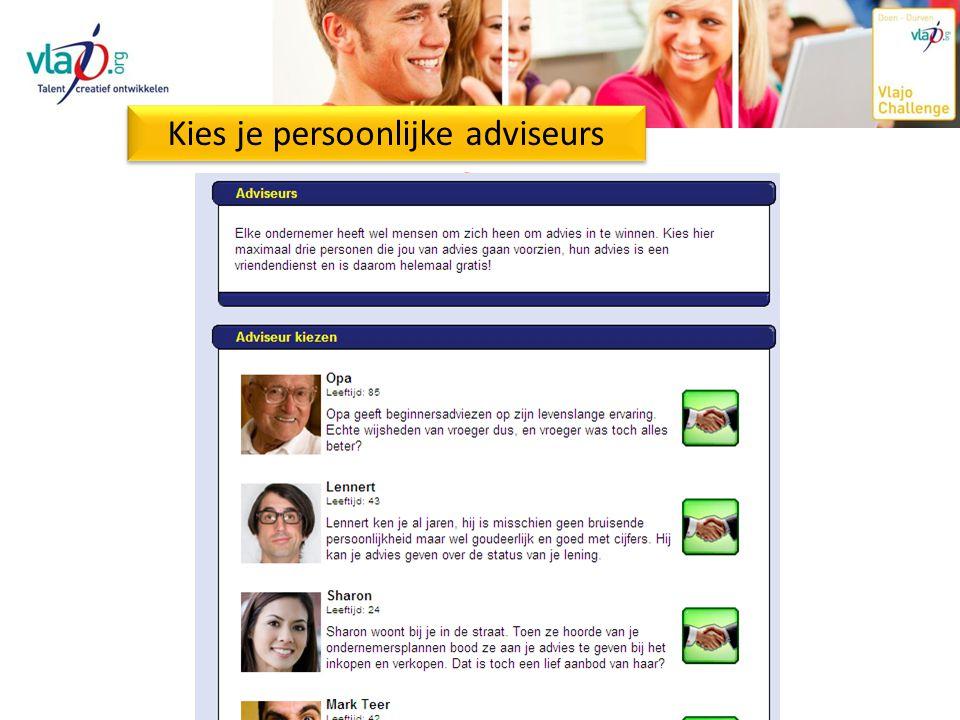 Doe je inkopen Kies je persoonlijke adviseurs