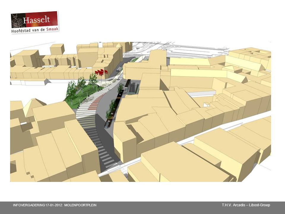 T.H.V. Arcadis – Libost-Groep INFOVERGADERING 17-01-2012: MOLENPOORTPLEIN