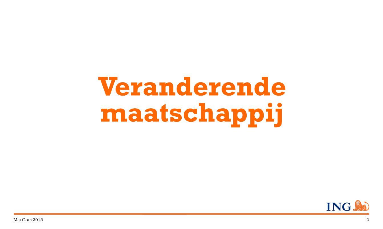MarCom 20132 Veranderende maatschappij