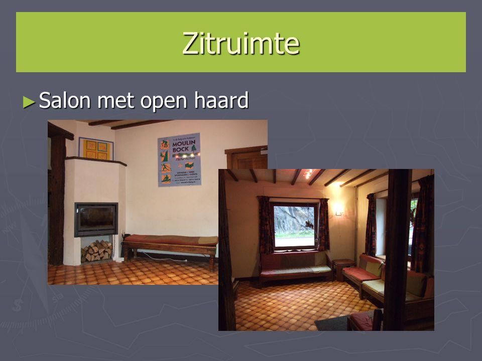 Zitruimte ► Salon met open haard