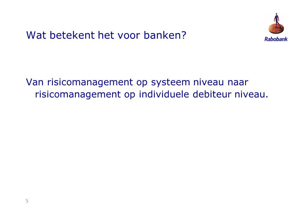 5 Wat betekent het voor banken.
