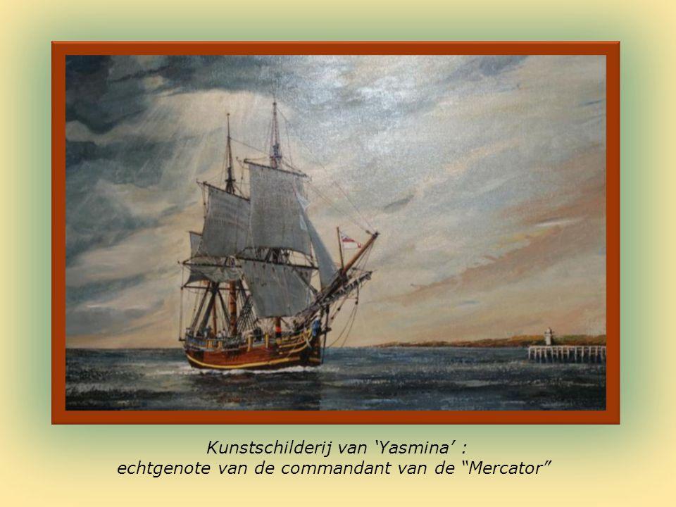Maquettes van oude vissersvaartuigen