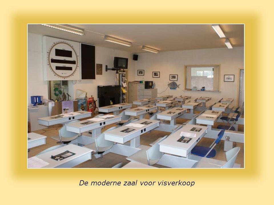 De moderne zaal voor visverkoop