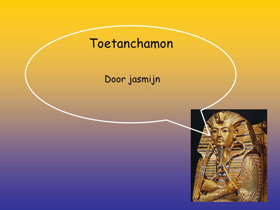Toetanchamon Door jasmijn