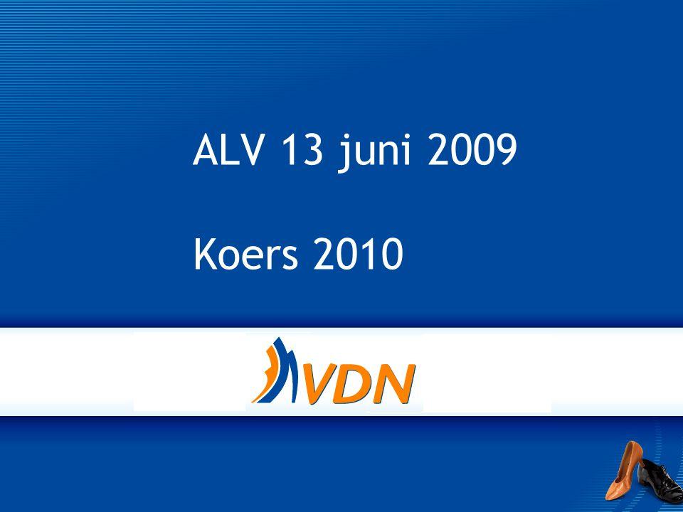 ALV 13 juni 2009 Koers 2010