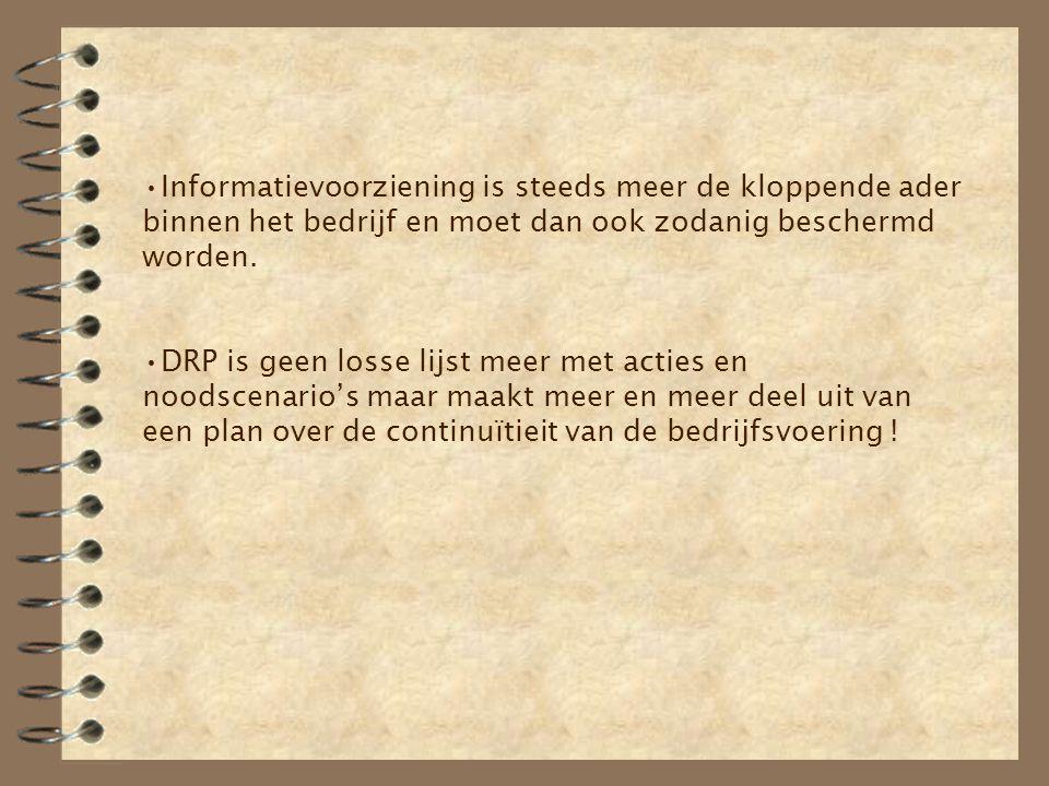 10.Besluit DRP => weloverwogen opgesteld en tijdig geactualiseerd.