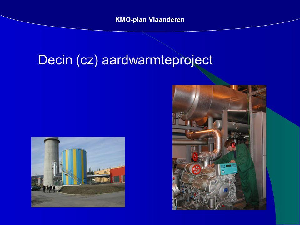 Decin (cz) aardwarmteproject KMO-plan Vlaanderen
